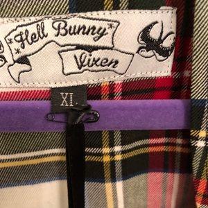 Hell Bunny Dresses - Hell Bunny vixen plaid dress size XL